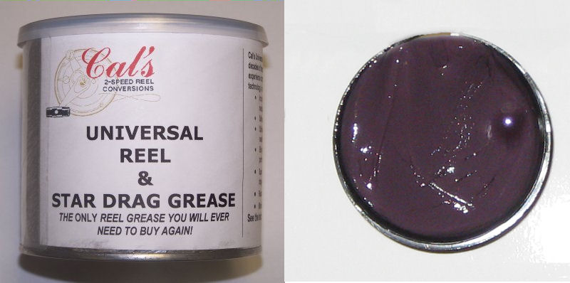 Cal's Universal Grease, Purple, for Smaller Reels, Colder Climates (1 Pound)