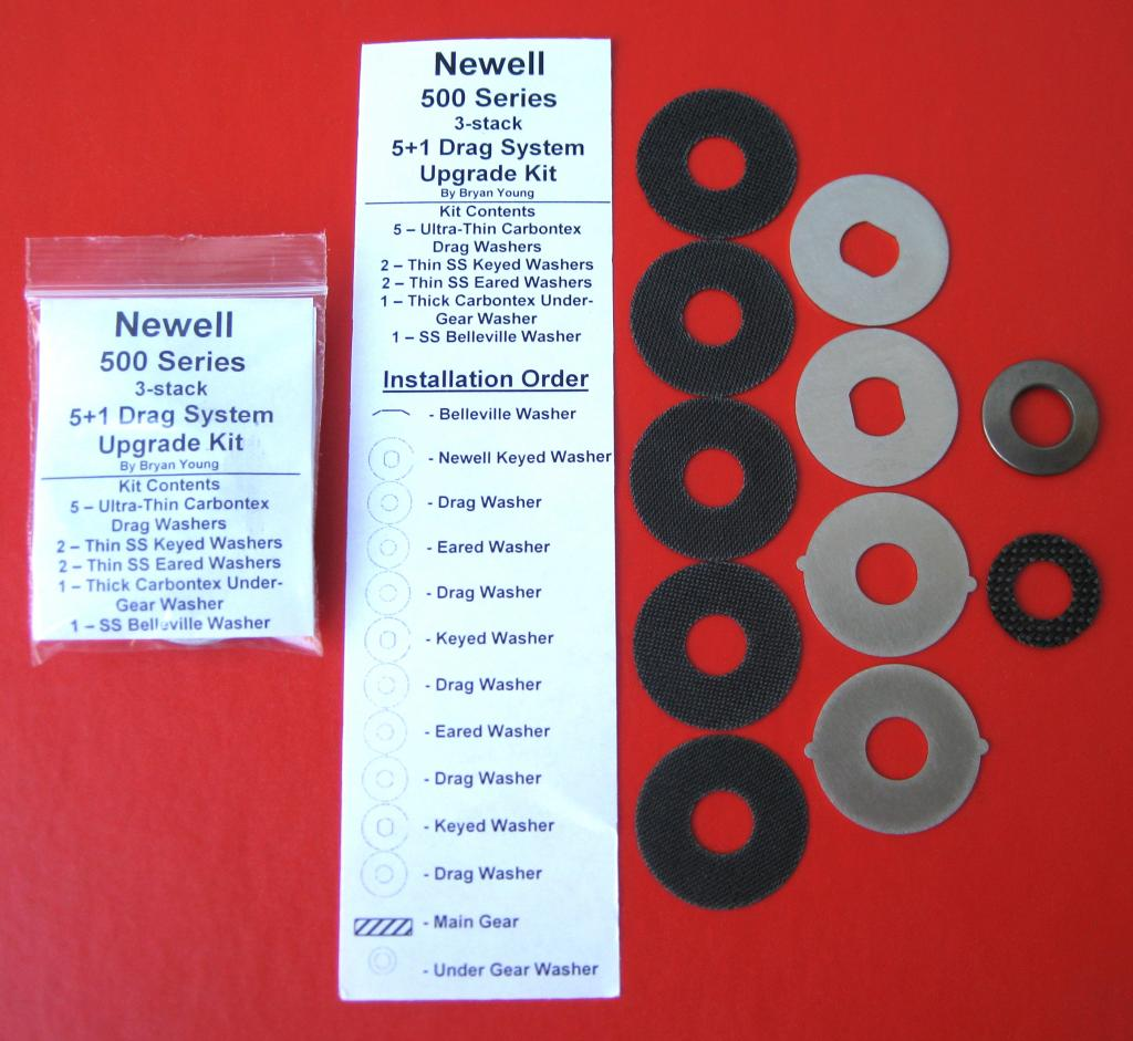 UU-NEWELL500 5+1 Drag Washer System (Custom)