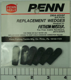 290A-825SP Wedges (Pack of 6)
