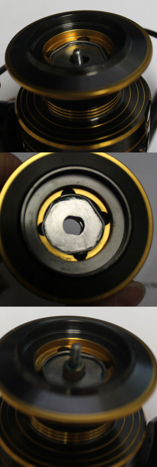 Image of spool not seated down