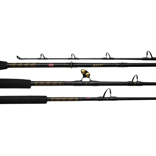 "ALLBW3080C60RS 6'0"" 30-80lb 1pc Ally Conventional Boat Rod"