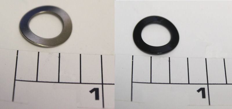 8-60 Washer, Black Tension Spring Washer (Belleville)