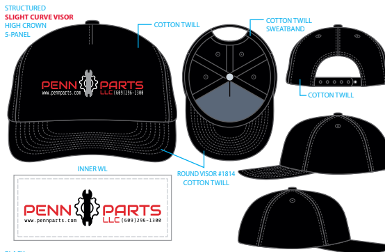 PennParts.com Black Hat (Clearance)